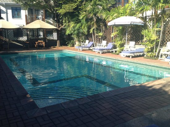 Protea Hotel Oyster Bay Dar es Salaam:                   The pool and terrace