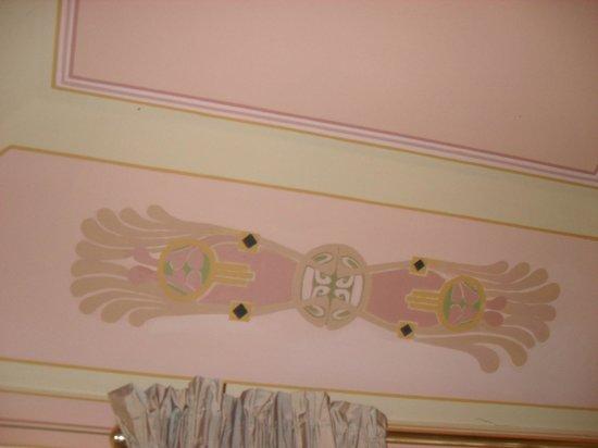 Moda' Antica Dimora: soffitto camera