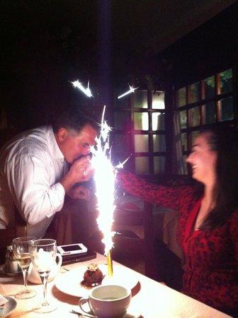 Don Pedro et mon gâteau