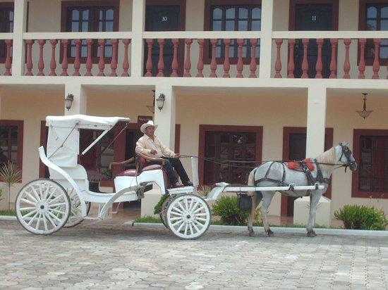 Hotel Palacio Real: Paseos en coches