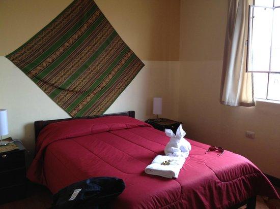 Hostal Wara Wara:                   Clean & sunny room @ Wara Wara