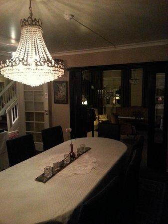 Opsahl Gjestegaard:                   dining room
