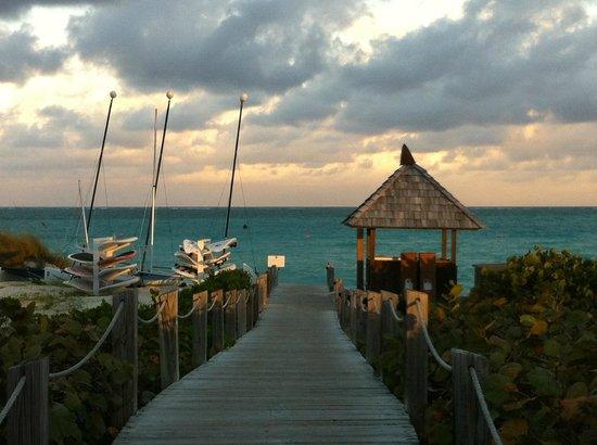 COMO Parrot Cay, Turks and Caicos:                   Dock