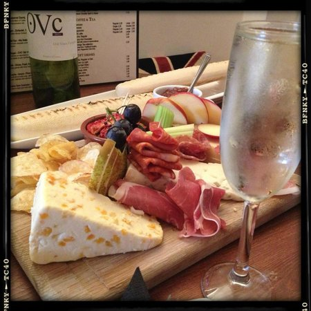 The Old Courthouse Wine and Coffee Bar:                   Mixed Platter