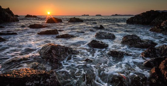 Las Brisas Hotel Collection Ixtapa:                   Rocks from the south end of the beach at sunset