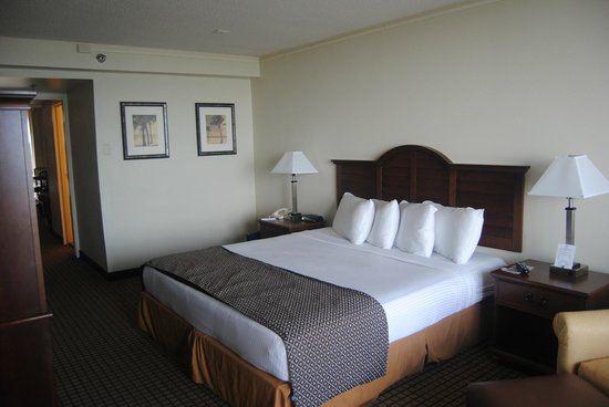 International Palms Resort & Conference Center Cocoa Beach:                   Our comfortable king size bed