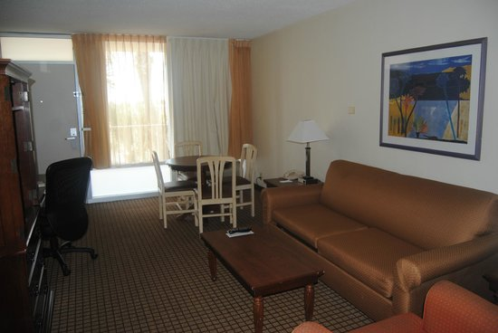 International Palms Resort & Conference Center Cocoa Beach:                   The front part of our suite (2 tv's, kitchenette, desk, etc.)