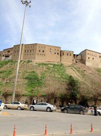 Erbil Citadel:                   castel in Erbil