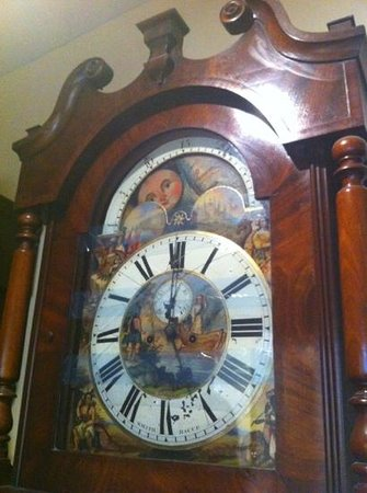Towneley Hall: grandfather clock no.6