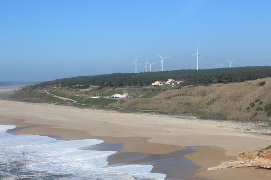 Inside Lisbon Tours:                   Look out point in Nazare