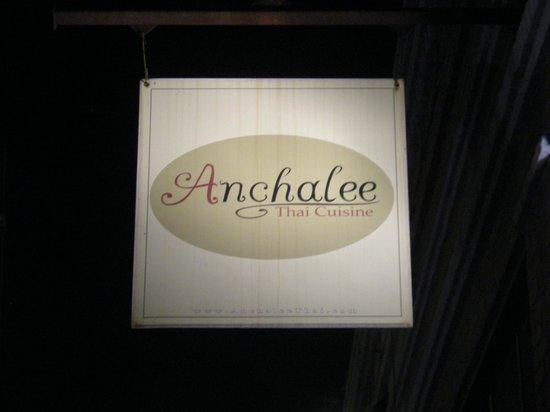 Anchalee Thai Cuisine:                   Marquee