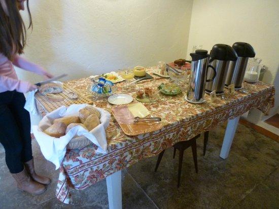 Quinta dos Machados : Breakfast