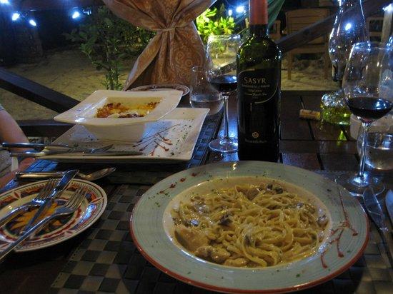 La Bussola Restaurant:                   Yummy!
