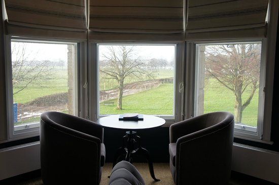 Number Thirty Eight:                   The view on a rainy day from the front...