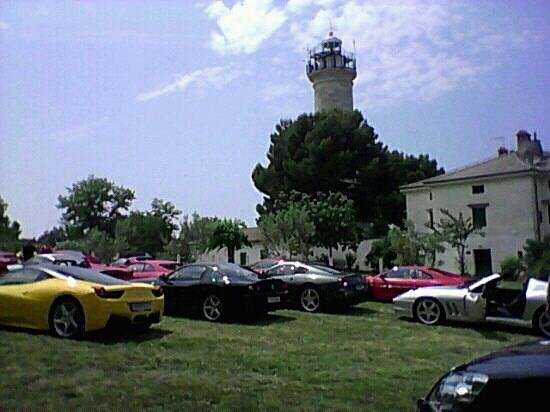 Savudrija Lighthouse :                   Raduno Ferrari