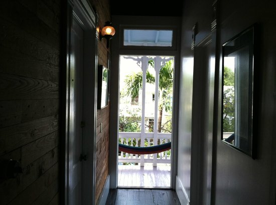Key West Bed and Breakfast:                   Second floor porch