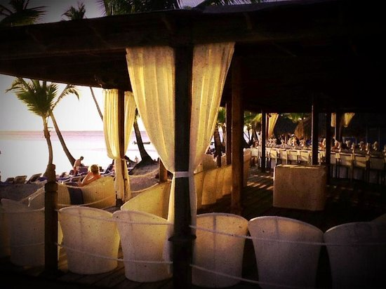 Catalonia Gran Dominicus:                   Have dinner overlooking the beach