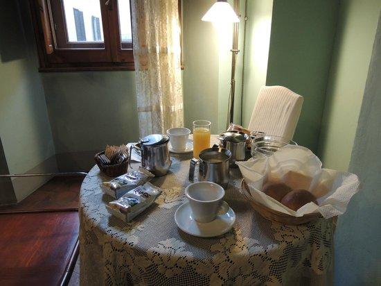La Residenza del Proconsolo: colazione in camera