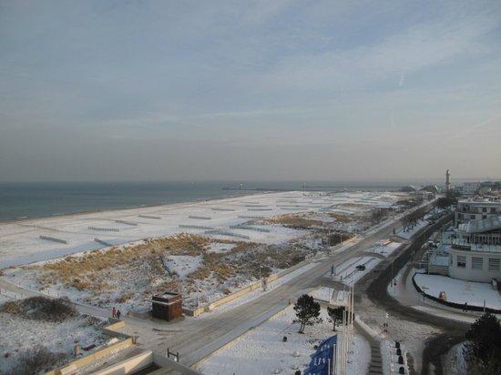 Hotel NEPTUN: Blick vom Balkon
