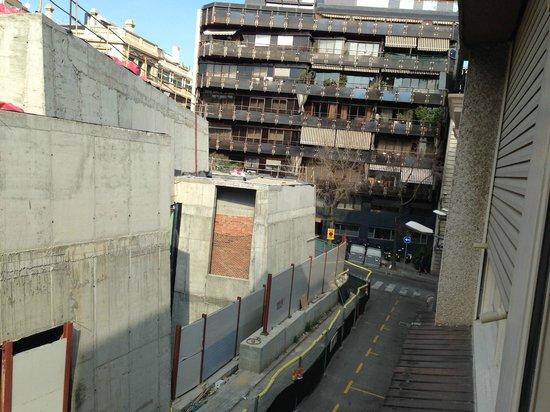 Bonanova :                   From window 1st floor
