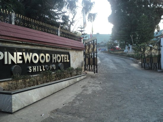 ‪‪Pinewood Hotel‬:                   Main Entrance