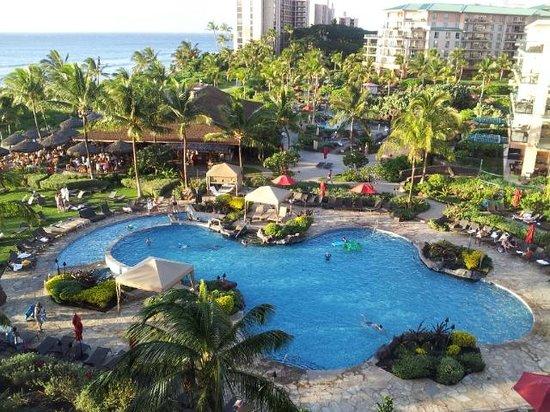 Honua Kai Resort & Spa:                   One Pool...