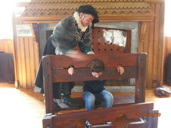 Dalkey Castle and Heritage Centre: The stocks