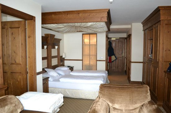 Hotel Genziana:                   Suite family