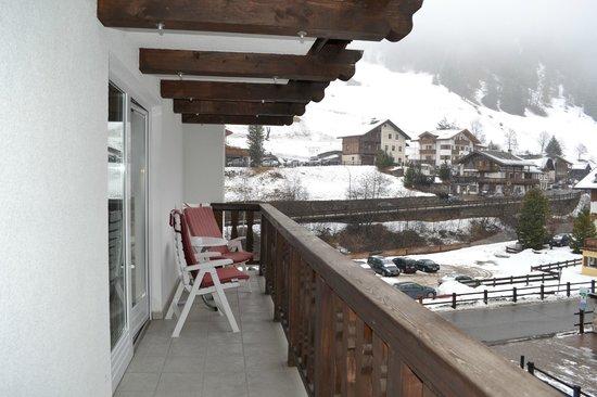 Hotel Genziana:                   Vista dal balcone