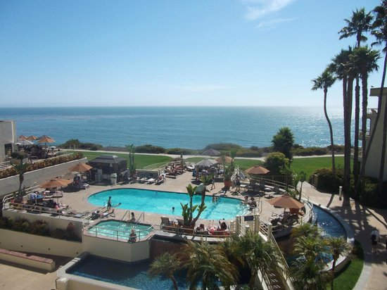 The Cliffs Resort: View of pool from balcony