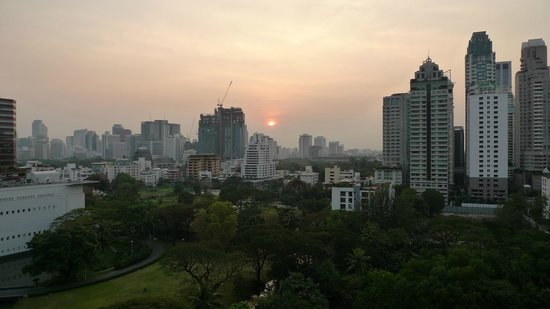 Oriental Residence Bangkok:                   View from GrandDeluxe facing to US embassy