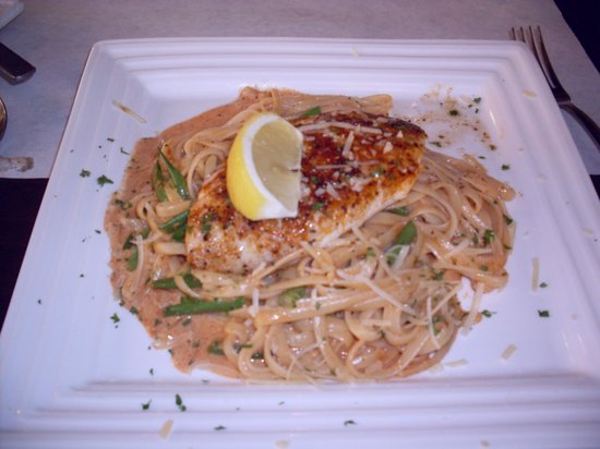 The Grille at Bellalago: Blackened Grouper Linguini
