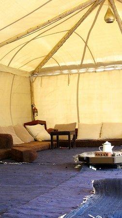 Dahab Paradise :                   The tent where I had my yoga classes