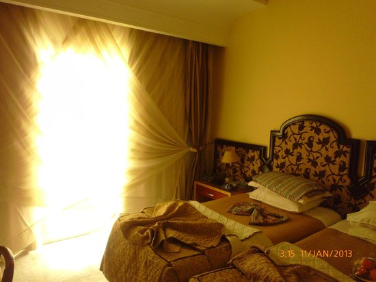Marhaba Palace Hotel: our bedroom