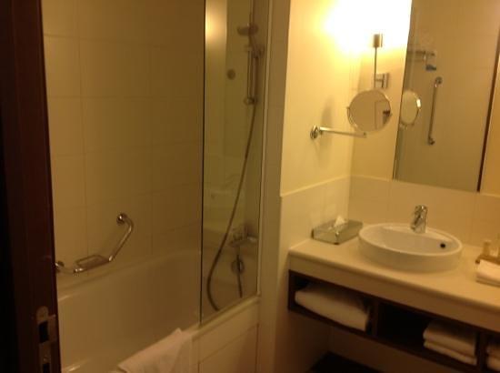 Radisson Blu Hotel at Disneyland Paris:                   la baignoire