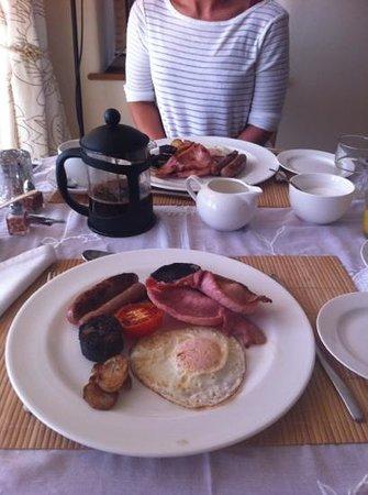 Abbots Lodge: breakfast
