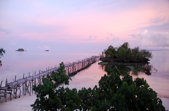 Island Retreat:                   Sunrise from my balcony