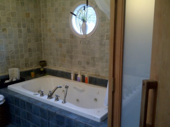 Woodstock Holistic B&B:                                     The jacuzzi tub