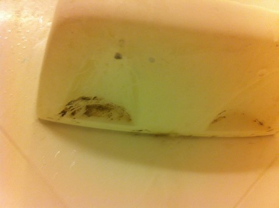 Hampton Inn Jacksonville Beach/Oceanfront:                   Soap scum :(