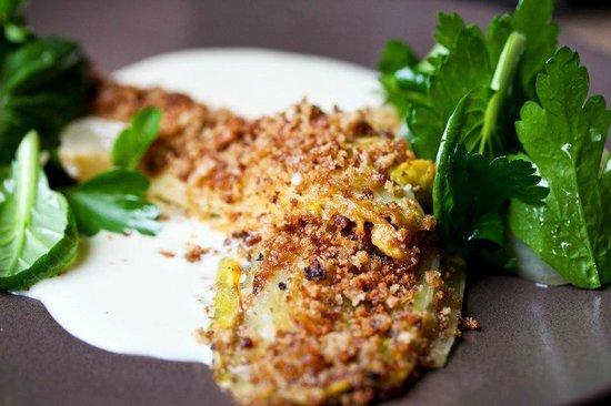 Braised Endive, Raclette Fonduta & Beer Pickled Onion (7.5/10) - Photo ...