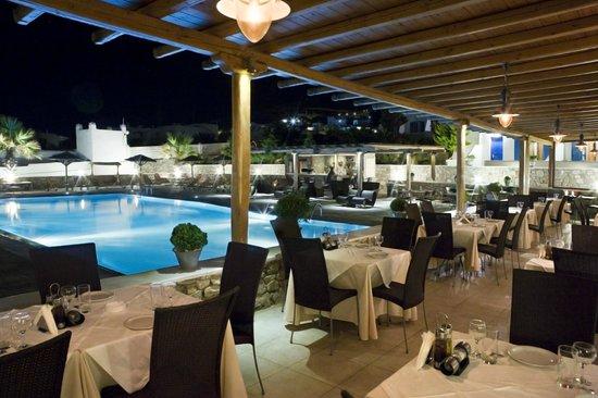 Yiannaki Hotel: Restaurant area