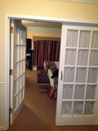 Senator Inn & Spa:                   french doors