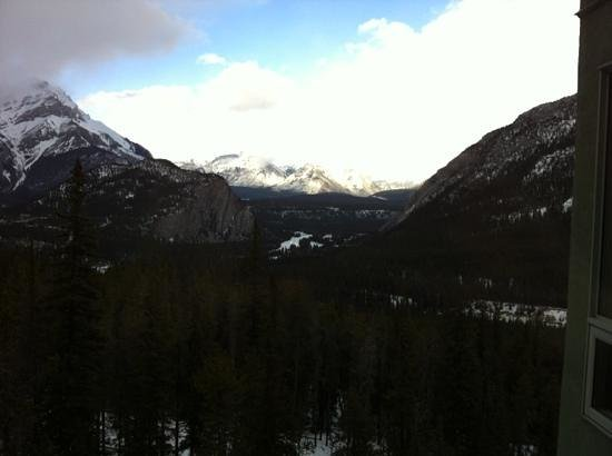 Rimrock Resort Hotel:                   view from our window