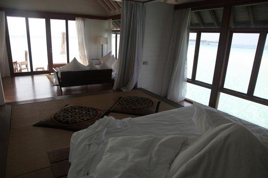 COMO Cocoa Island: villa inside ( partial view )