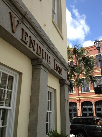 The Vendue Charleston's Art Hotel:                   Outside Vendue