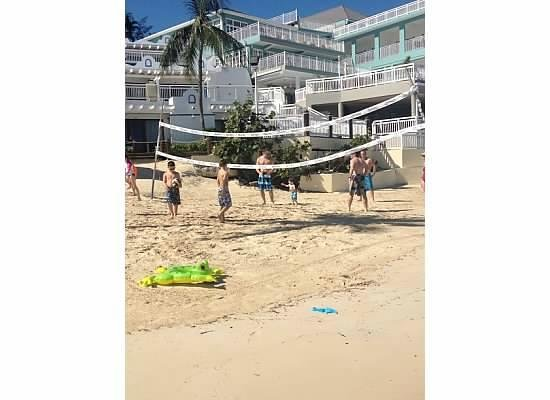 Beaches Ocho Rios Resort & Golf Club:                   beach volleyball