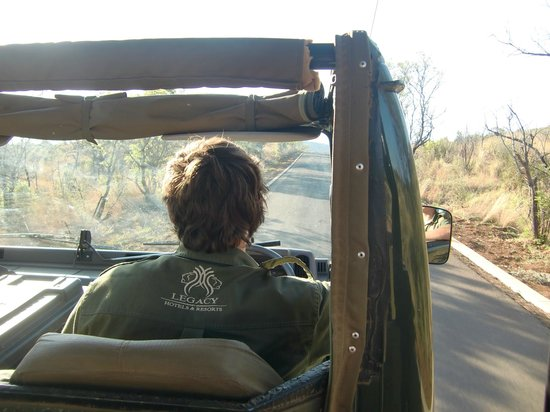 Pilanesberg National Park, South Africa:                   De Ranger van Legacy