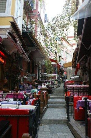 Hotel Sultania: French Street (Fransiz Sokak)
