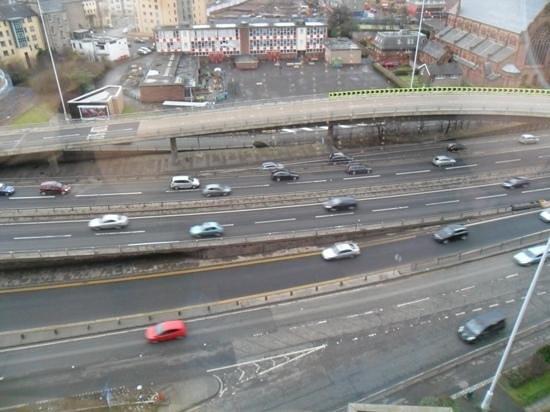Hilton Glasgow: view
