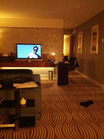 Hilton Berlin: camera deluxe